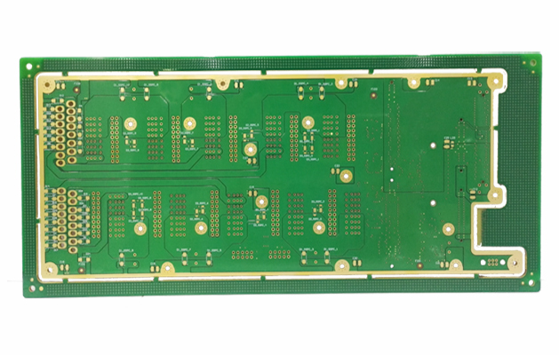 504-Huihe Circuits professional PCB circuit board circuit board manufacturer 10-layer in-plate hole PCB circuit board