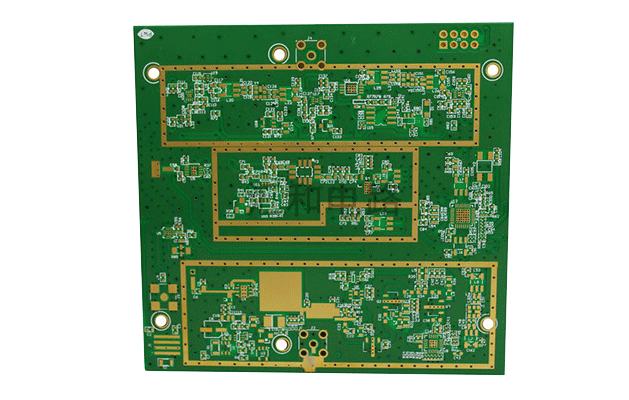 506-Huihe Circuits, a professional PCB circuit board manufacturer, six-layer Rogers+FR4 mixed-voltage PCB circuit board