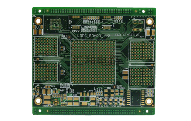 507-Huihe circuit professional PCB circuit board circuit board manufacturer 10-layer impedance plug hole PCB circuit board