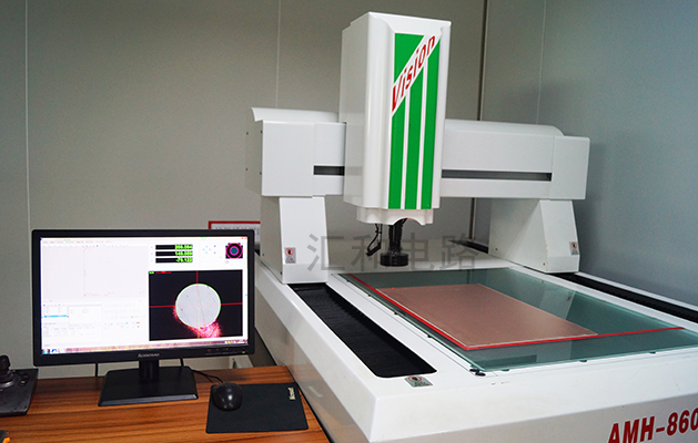 PCB circuit board circuit board production and processing manufacturer Huihe circuit PCB circuit board two-dimensional inspection machine